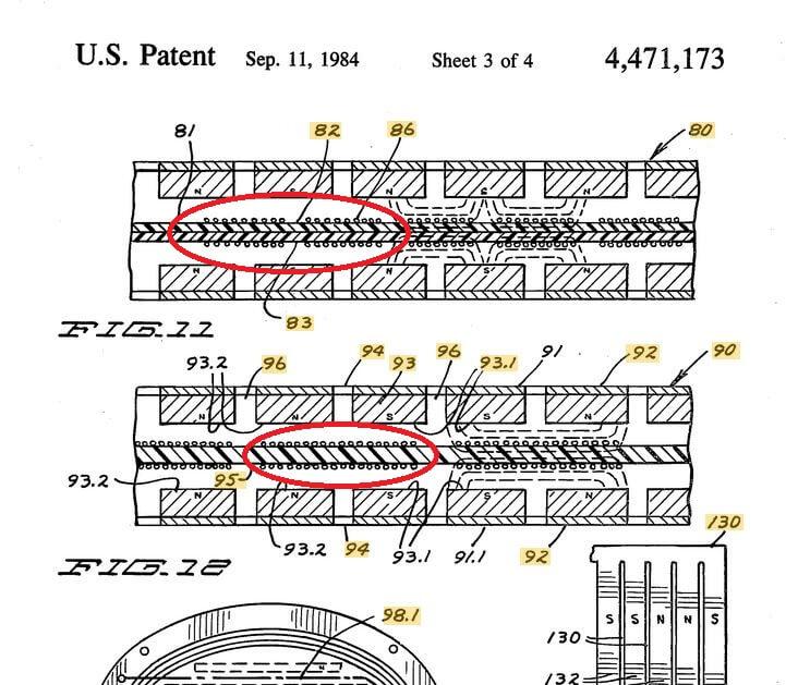 Изодинамическая мембрана с двусторонней металлизацией